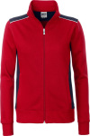 James & Nicholson – Ladies' Workwear Sweat Jacket for embroidery and printing