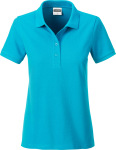 James & Nicholson – Ladies' Organic Polo for embroidery and printing
