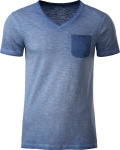 James & Nicholson – Men's Vintage T-Shirt for embroidery and printing