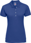 Russell – Ladies' Piqué Stretch Polo for embroidery and printing