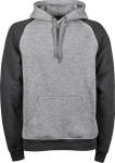 Tee Jays – Men's Two-Tone Hooded Sweatshirt for embroidery and printing