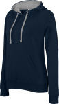 Kariban – Ladies' 2-tone Hooded Sweat for embroidery and printing