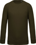 Kariban – Men's Organic Raglan Sweat for embroidery and printing