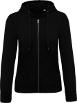 Kariban – Ladies' Organic Hooded Sweat Jacket for embroidery and printing