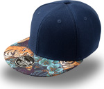 Atlantis – 6 Panel Kappe Snap Colour zum besticken