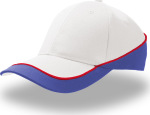 Atlantis – 3 colored 6 Panel Cap Racing for embroidery