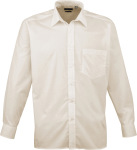 Premier – Poplin Shirt longsleeve for embroidery and printing