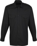 Premier – Pilot Shirt longsleeve for embroidery and printing