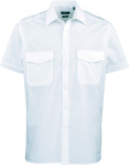 Premier – Pilot Shirt shortsleeve for embroidery and printing