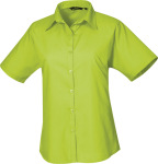 Premier – Poplin Blouse shortsleeve for embroidery and printing