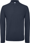B&C – Men's Piqué Polo longsleeve for embroidery and printing