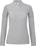 B&C – Ladies' Piqué Polo longsleeve for embroidery and printing