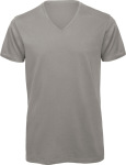 B&C – Men's V-Neck T-Shirt for embroidery and printing