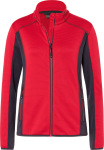 James & Nicholson – Damen Stretch Fleecejacke zum besticken