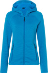 James & Nicholson – Ladies' Hooded Stretch Fleecejacket hímzéshez