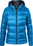 James & Nicholson – Ladies' Hooded Down Jacket hímzéshez