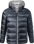 James & Nicholson – Men's Hooded Down Jacket for embroidery