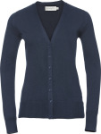 Russell – Ladies' Knitted V-Neck Cardigan hímzéshez