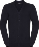 Russell – Men's V-Neck Knitted Cardigan for embroidery