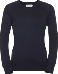Russell – Ladies' Crew Neck Knitted Pullover hímzéshez