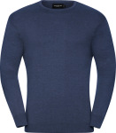 Russell – Men's Crew Neck Knitted Pullover for embroidery