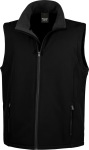 Result – Men's 2-layer Printable Softshell Gilet hímzéshez