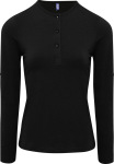Premier – Ladies' Roll Sleeve T-Shirt longsleeve for embroidery and printing