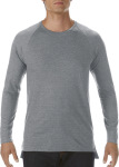 Anvil – Lightweight Long & Lean Raglan Long Sleeve Tee zum besticken und bedrucken