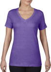 Anvil – Ladies Featherweight V-Neck Tee for embroidery and printing