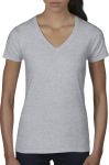 Anvil – Women`s Lightweight V-Neck Tee for embroidery and printing