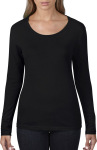 Anvil – Ladies Sheer LS Scoop Tee zum besticken und bedrucken