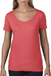 Anvil – Ladies Featherweight Scoop Tee for embroidery and printing