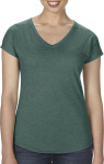 Anvil – Women`s Tri-Blend V-Neck Tee for embroidery and printing