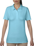 Anvil – Women's Double Piqué Polo for embroidery and printing