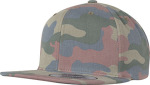 Flexfit – Cotton Camo Snapback zum besticken