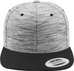 Flexfit – Stripes Melange Crown Snapback zum besticken