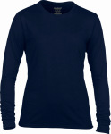 Gildan – Performance Ladies Long Sleeve T-Shirt for embroidery and printing
