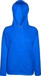 Fruit of the Loom – Lady-Fit Lightweight Hooded Sweat zum besticken und bedrucken