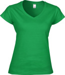 Gildan – Softstyle Ladies´ V-Neck T-Shirt for embroidery and printing