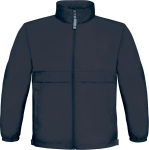 B&C – Jacket Sirocco Windbreaker / Kids for embroidery and printing