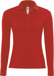 B&C – Polo Safran Pure Longsleeve / Women for embroidery and printing