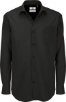 B&C – Poplin Shirt Heritage Long Sleeve / Men for embroidery and printing