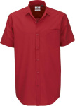 B&C – Poplin Shirt Heritage Short Sleeve / Men for embroidery and printing