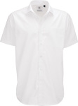 B&C – Poplin Shirt Smart Short Sleeve / Men zum besticken und bedrucken
