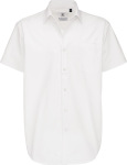 B&C – Twill Shirt Sharp Short Sleeve / Men for embroidery and printing