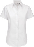 B&C – Oxford Shirt Short Sleeve / Women zum besticken und bedrucken