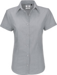 B&C – Oxford Shirt Short Sleeve / Women for embroidery and printing