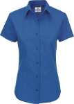 B&C – Poplin Shirt Heritage Short Sleeve / Women for embroidery and printing