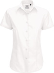 B&C – Poplin Shirt Smart Short Sleeve / Women zum besticken und bedrucken