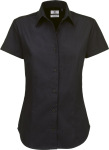 B&C – Twill Shirt Sharp Short Sleeve / Women zum besticken und bedrucken
